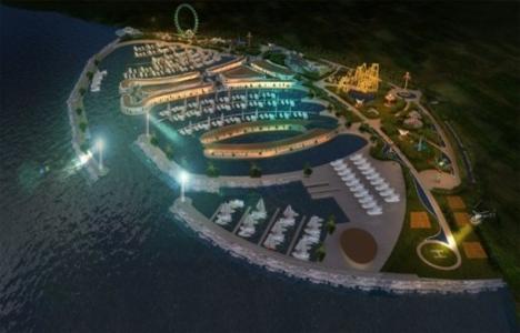 Viaport Marina'nın içinde