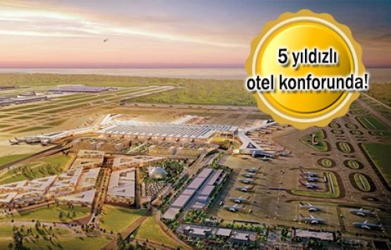 THY'den 3. havalimanına 6 bin metrekarelik lounge!