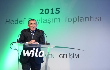 Wilo Hedef Toplantısı'nda 2015 vizyonu açıklandı!