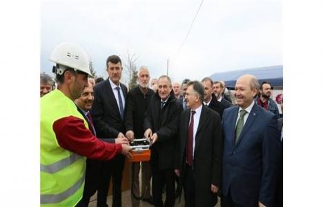 Bolu'da 70 kişilik yurdun temeli atıldı!