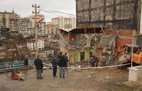 Trabzon Tabakhane'deki kentsel dönüşüm çalışmaları devam ediyor!