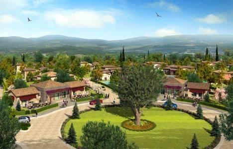 Tek katlı villa yaşamı: Toskana Vadisi projesi!