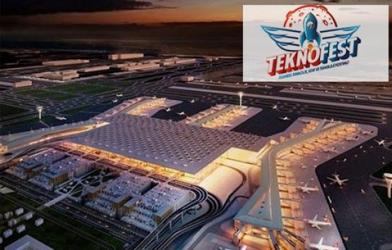 Yeni Havalimanı'nı dünyaya