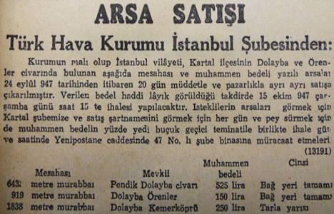 1947 yılında Kartal'da