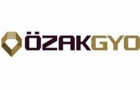 Özak GYO genel kurul toplantısı sonucu yayınladı!