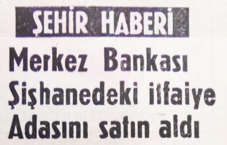 1968 yılında Merkez