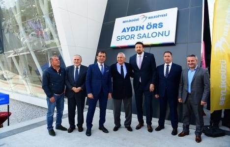 Beylikdüzü Aydın Örs Spor Kompleksi açıldı!