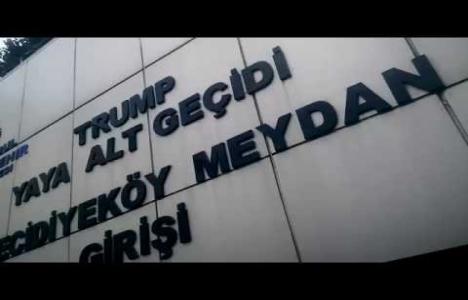 Donald Trump'ın ismini taşıyan alt geçidin adı değişti!