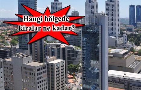 Ofis bölgelerinde kiralar düşüyor!