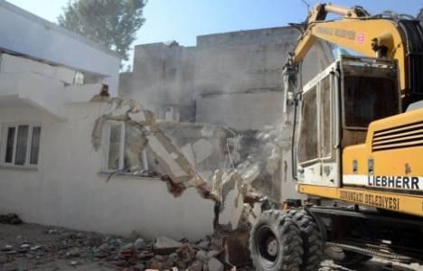 Osmangazi'de kaçak yapıların