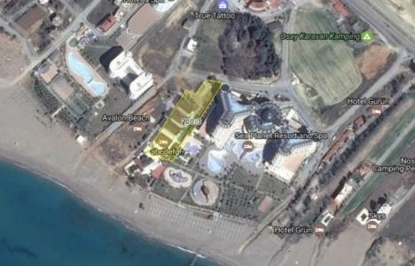 Manavgat'ta icradan 3.7 milyon TL'ye satılık otel!