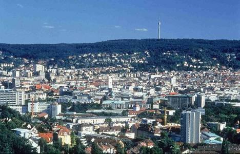 Stuttgart'ta Türklerin yaşadığı binada yangın çıktı!