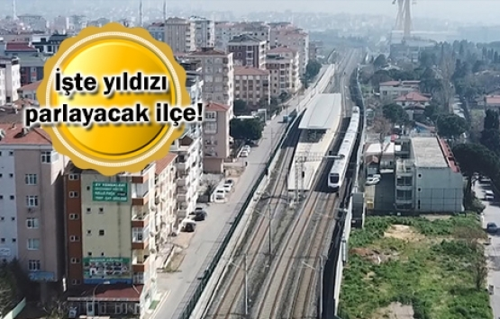 Halkalı-Gebze Marmaray Hattı ile o ilçenin kaderi değişecek!