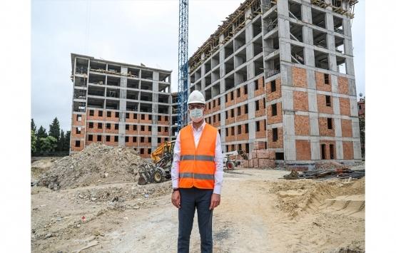 Muharrem Kasapoğlu İstanbul'da yapımı süren tesisleri inceledi!