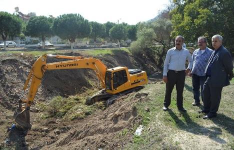 Yenikent Deresi Islah ve Çevre Düzenleme projesine başlandı!