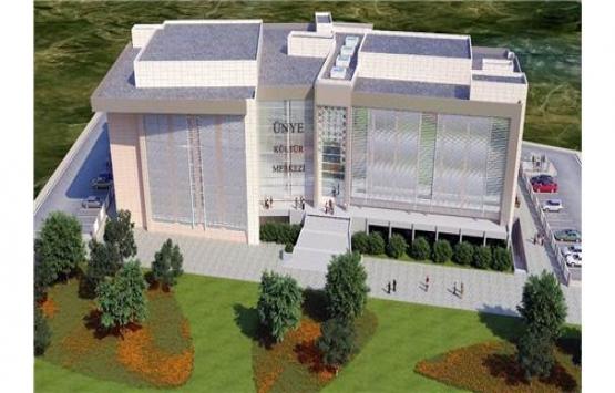 Ünye Kültür Merkezi 2020'de tamamlanacak!