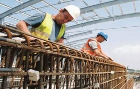 İnşaat sektörü 2015'de yüzde 2 büyüdü!