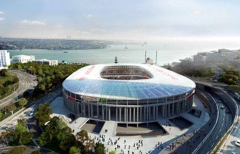 Vodafone Arena inşaatının