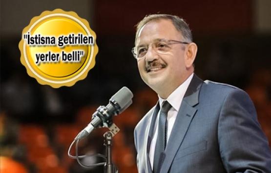 Mehmet Özhaseki'den imar