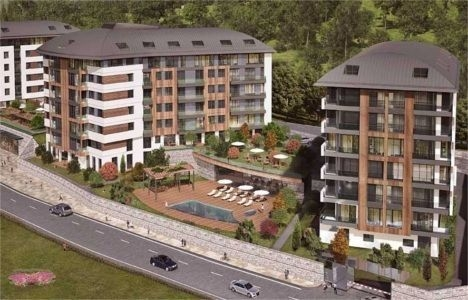 Terrace Koru Rezidans satış ofisi!