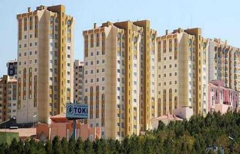 TOKİ Kayseri'de dul