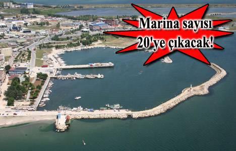 İstanbul'a 12 yeni marina geliyor!