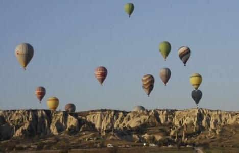 Kapadokya'ya 10 ayda 2 milyon 575 bin turist geldi!