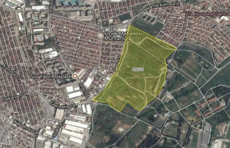 Sancaktepe Sarıgazi'de 353 dönüm alanın imar planı askıda!