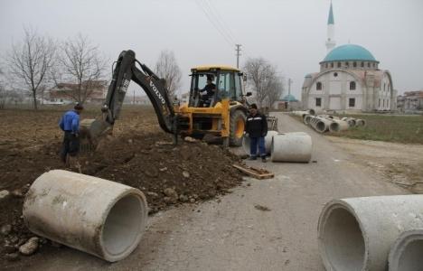 Akyazı'da altyapı çalışmaları