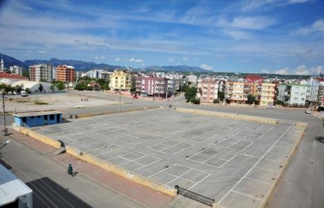 Kepez Şafak Mahallesi'ne iki katlı kapalı pazar alanı!