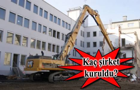 Kentsel dönüşüm inşaat firmalarının sayısını arttırdı!