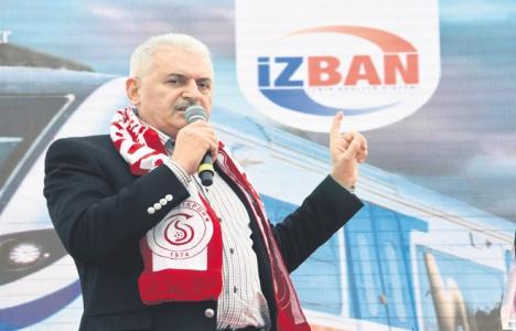 Binali Yıldırım'dan İzmir'e