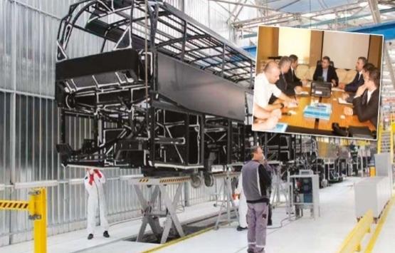 Ankara'ya otobüs fabrikası