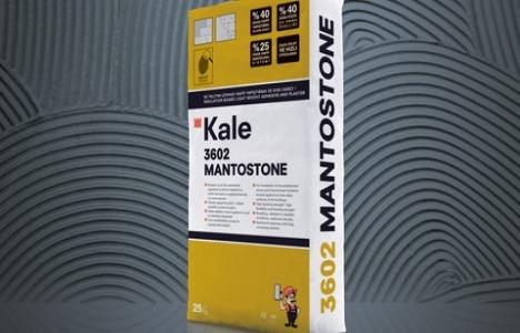 Kale Mantostone ile mantolama sistemini yüzde 25 hafifletiyor!