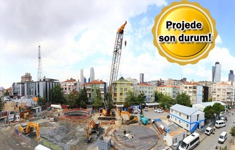 Mecidiyeköy-Mahmutbey Metrosu'nun inşaatında sona geliniyor!