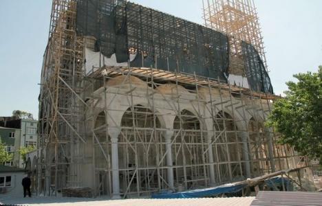 Esenler'de 15 milyon TL'lik taş cami inşa ediliyor!