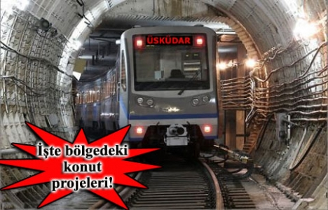 Üsküdar metrosu emlak