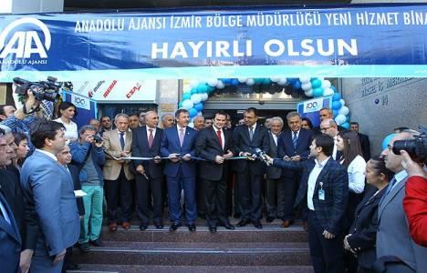 AA İzmir Bölge Müdürlüğü yeni ofisi törenle açıldı!