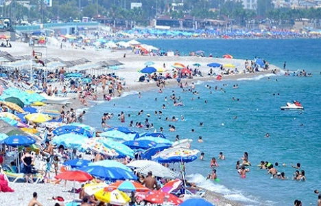 Almanlar Antalya turizminin