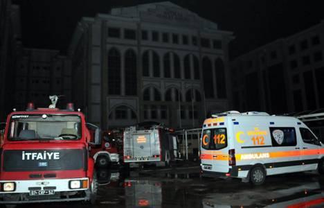 Antalya Adliyesi'nde yangın çıktı!