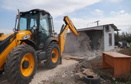 Diyarbakır Bağlar'da kaçak yapılar yıkılıyor!