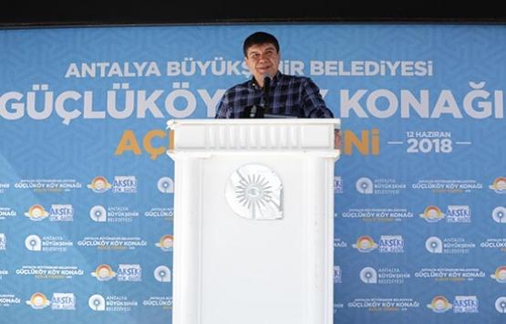 Antalya Güçlüköy Mahalle Konağı açıldı!