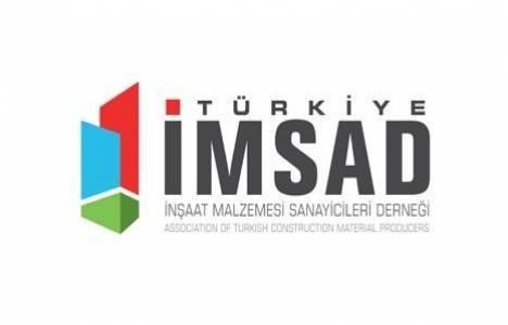 İMSAD İnşaat malzemesinde Türkiye'nin ilk sanayi endeksini hazırlanıyor!