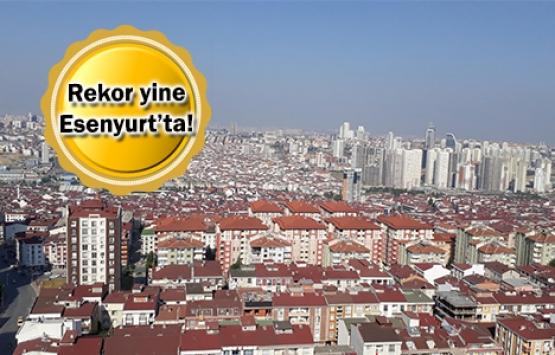 Esenyurt'ta Ekim'de 3 bin 758 konut satıldı!