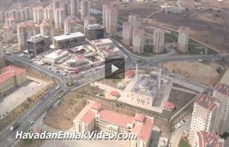 Kayaşehir Toki Evleri'nin havadan son görüntüleri!