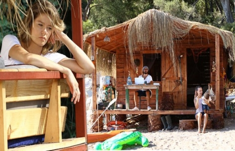 Hayat Şarkısı'ndan Köyceğiz Belediyesi'ne prefabrik ev!