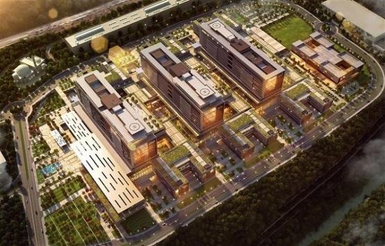 İkitelli Şehir Hastanesi'nin inşaatı yükseliyor! İşte son kareler!