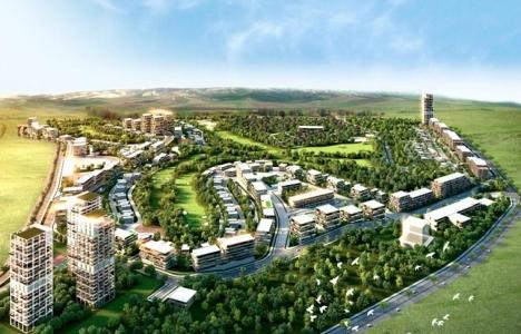 Golfkent'te konut, iş merkezi, okul ve sağlık imarlı satılık arsa!
