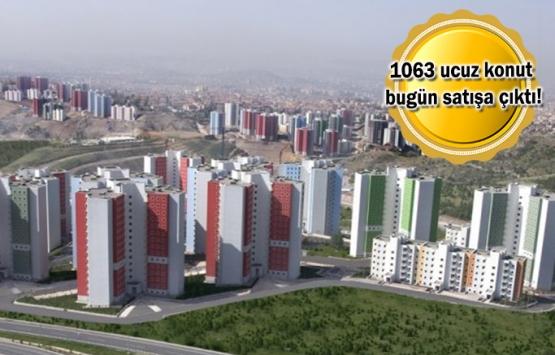 TOKİ'den 309 TL taksitle konut fırsatı!