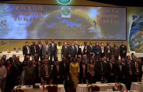 Dünya Kadastro Zirvesi'nde İstanbul Deklarasyonu yayınlandı!